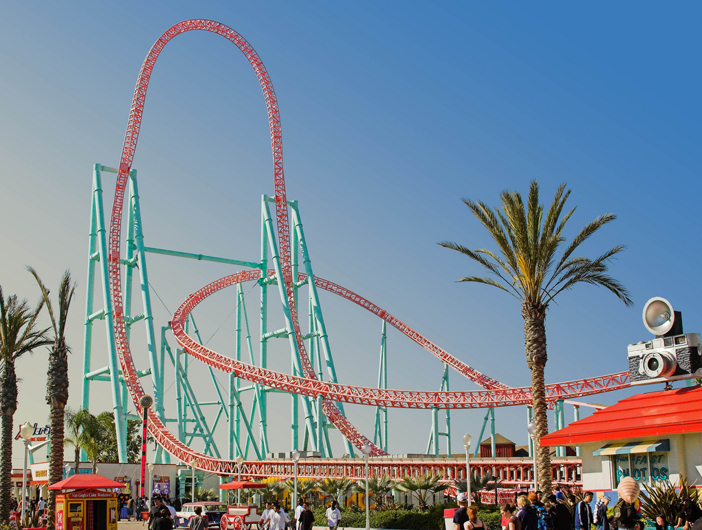 Xcelerator Roller Coaster Counting Down My Top 1...